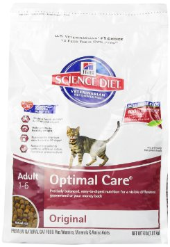 Science Diet Dry Cat Food Calories