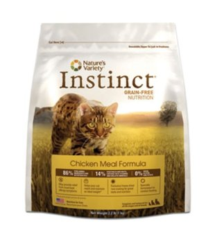 Instinct Grain-Free Dry Cat Food by Nature's Variety