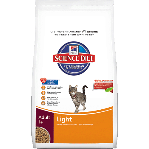 Science Diet Indoor Light Cat Food